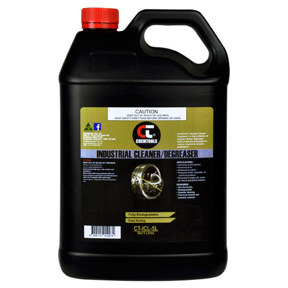Chemtools CT-ICL-5L Industrial Cleaner & Degreaser 5 Litre