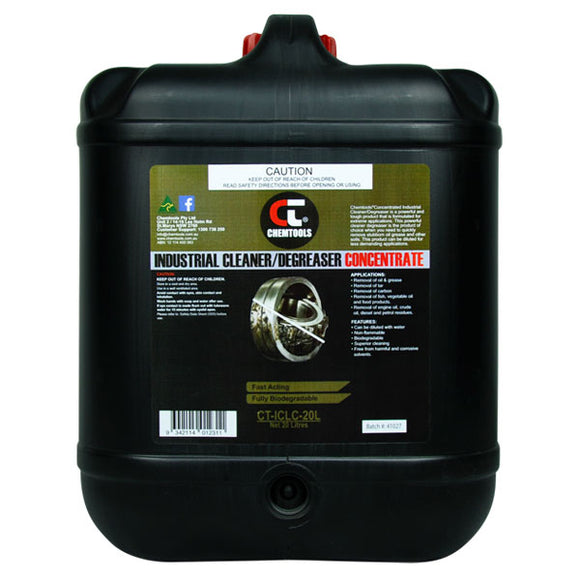 Chemtools CT-ICLC-20L Industrial Cleaner & Degreaser Concentrate 20 Litre