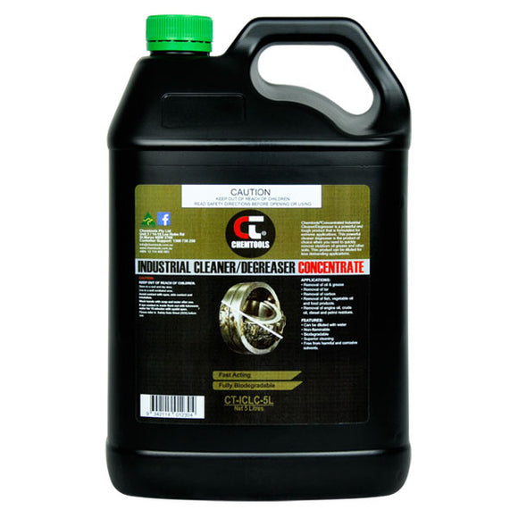 Chemtools CT-ICLC-5L Industrial Cleaner & Degreaser Concentrate 5 Litre