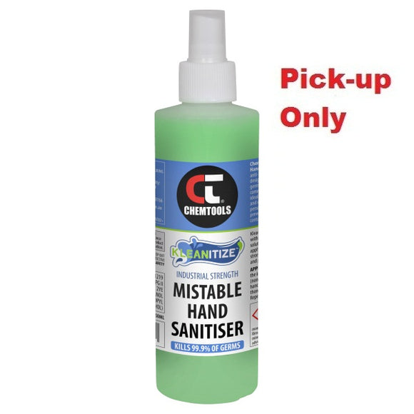 CT-KMS-250ML Chemtools Kleanitize™ Mistable Hand Sanitiser