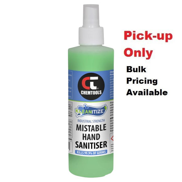 Chemtools CT-KMS-250ML Kleanitize™ Mistable Hand Sanitiser 250ml