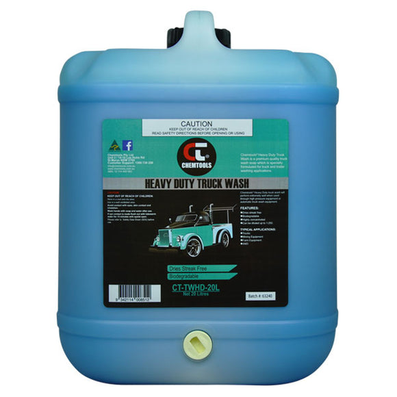 Chemtools CT-TWHD-20L Heavy Duty Truck Wash 20 Litres