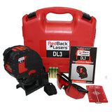 DL3 – RedBack Lasers Multi Cross Line Laser Level