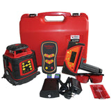 EGL624GM – RedBack Electronic Levelling Rotating Laser Level H/V with Auto Grade Match + MM Tracking Receiver