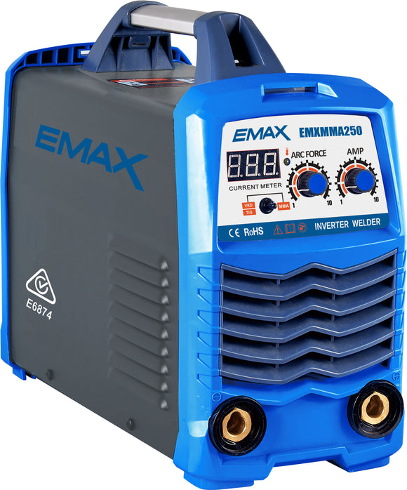 EMAX EMXMMA250 ARC/TIG WELDER - COMING SOON