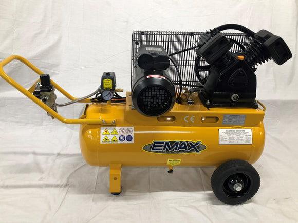 EMAX EMX2550 2.5hp Industrial Heavy Duty Air Compressor