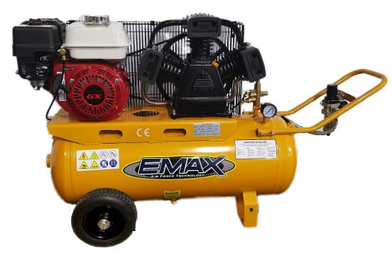 EMAX EMX6570PH Workshop Series Petrol Air Compressor