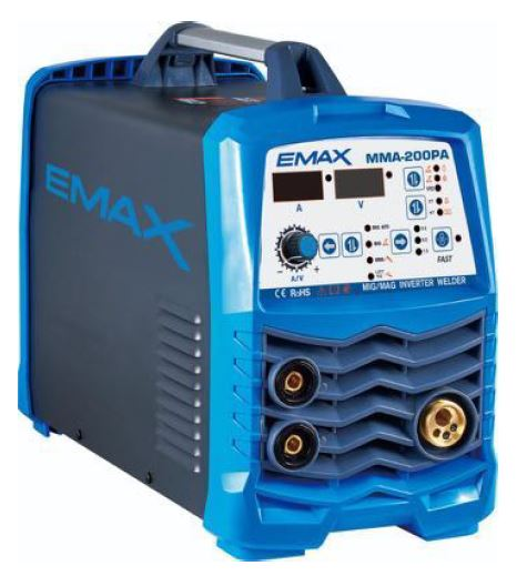 EMAX EMXMIG200 3 IN 1 Inverter Welder