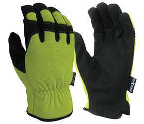 Maxisafe GRS255-10 G-Force HiVis Synthetic Riggers Glove Size 10 Large