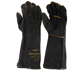 Maxisafe GWB160 'Black & Gold' Welders Gloves