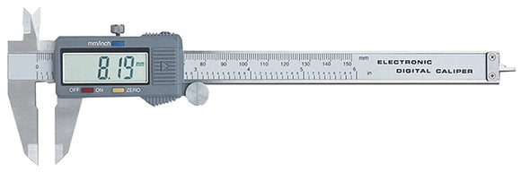 KC Tools M1150 DUAL SCALE CALIPER, DIGITAL 150MM / 6