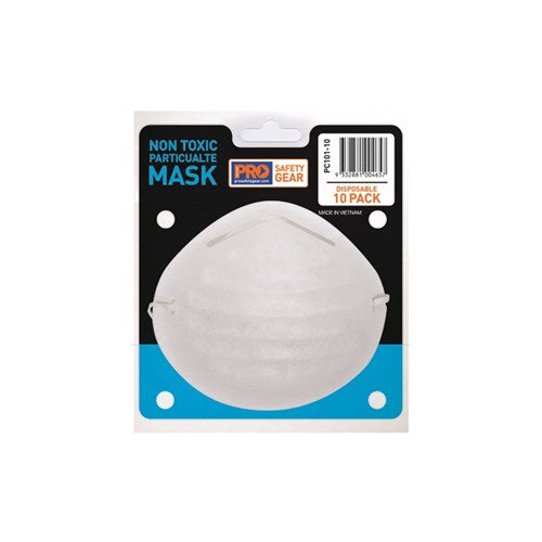 Pro Choice PC101-10 Non Toxic Dust Masks 10 Pack