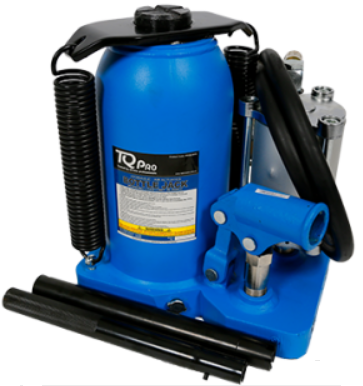 Tradequip TQPro PROBJ20TA 20,000kg Bottle Jack - Air/Manual Hydraulic