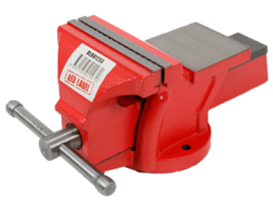 Red Label RLBV125S Bench Vice Fixed with Anvil 125mm