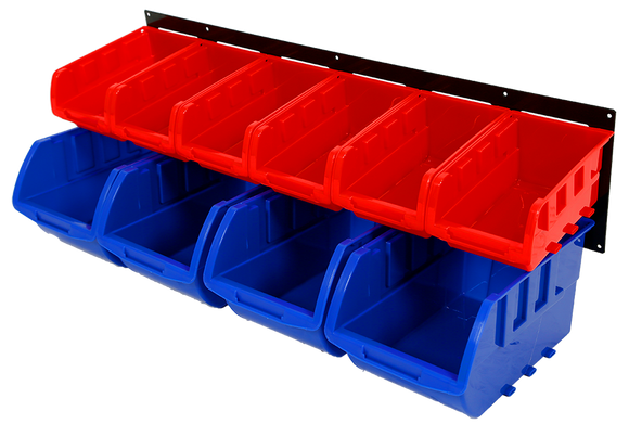 Red Label RLS10BR Parts Storage Bin Rack 10Bin