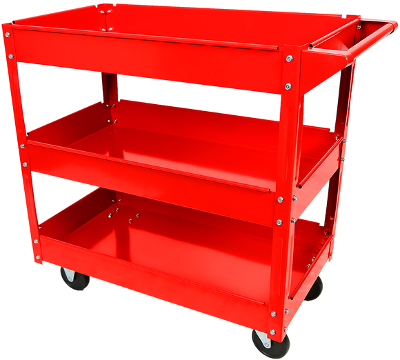 Red Label RLTC03 Workshop Trolley 3 Tool Trays