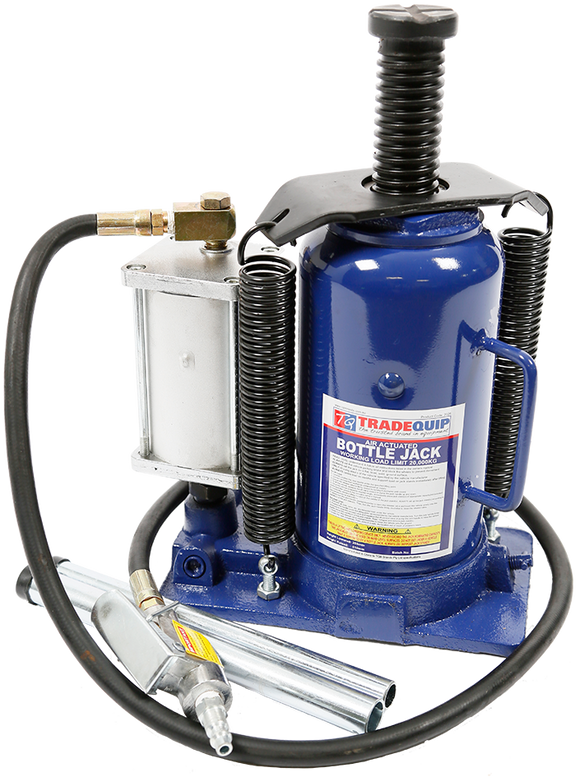 Tradequip 2026T 20,000kg Bottle Jack - Air/Manual Hydraulic