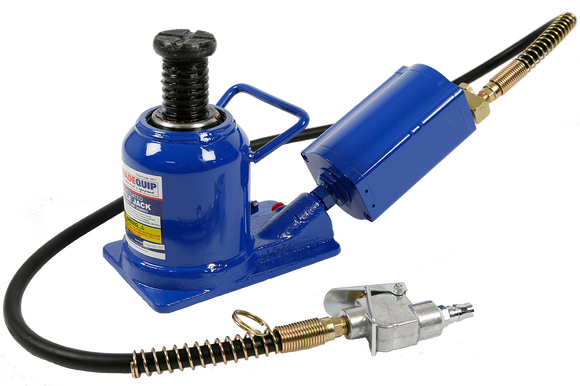 Tradequip 2051T 20,000kg Squat Bottle Jack - Air Hydraulic