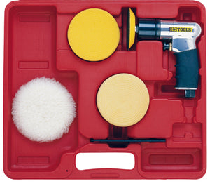 "KC Tools SM090 3"" MINI AIR POLISHER KIT"