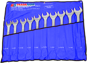 Tradequip TQHT10PJS Jumbo Combination Spanner Set 10pce Imperial
