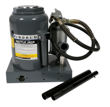 Tradequip BBJ50TA 50,000kg Bottle Jack - Air Hydraulic