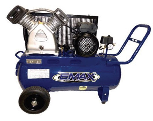 EMAX EMX2550CB 2.5HP 50L Belt Drive Air Compressor FAD 210LPM