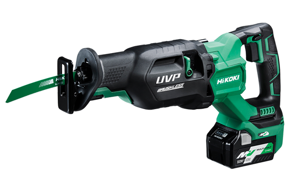 HIKOKI (HITACHI) CR36DA(HGZ)36V Brushless Reciprocating Saw KIT