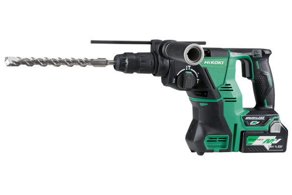 HIKOKI (HITACHI) DH36DPC(HRZ)36V Brushless SDS Plus Rotary Hammer with Quick Release Chuck KIT