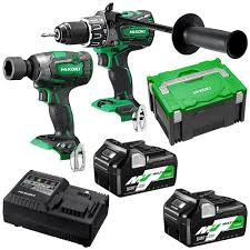 HiKOKI KC36DPL(HRZ) 36V 5.0Ah/2.5Ah Li-Ion Cordless Brushless 2pce Combo Kit