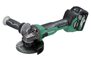G3613DA(HRZ) HIKOKI (HITACHI) 36V Brushless 125mm Angle Grinder with Slide Switch KIT