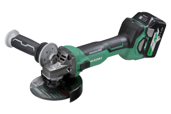 HIKOKI (HITACHI) G3613DA(HRZ)36V Brushless 125mm Angle Grinder with Slide Switch KIT