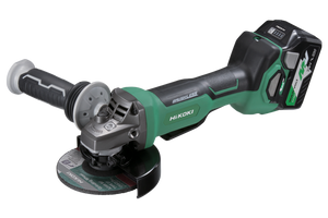 G3613DB(HRZ) HIKOKI (HITACHI) 36V Brushless 125mm Angle Grinder with Paddle Switch KIT