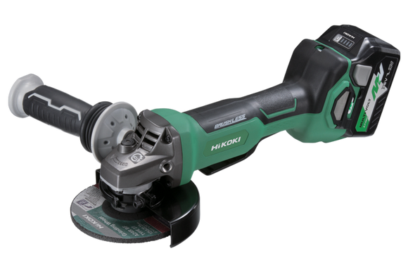 HIKOKI (HITACHI) G3613DB(HRZ) 36V Brushless 125mm Angle Grinder with Paddle Switch KIT