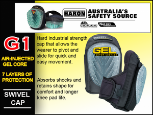 G1 NAILERS GEL SUPER CUSHION KNEE PADS