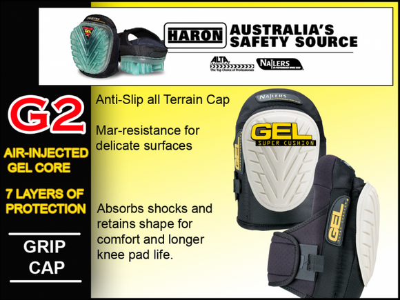 G2 NAILERS GEL KNEE PADS