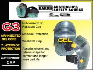 G3 NAILERS GEL SUPER CUSHION Knee Pads