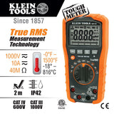 Klein MM700 Digital Multi-meter - TRMS/Low Impedance