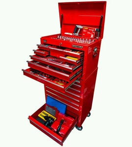 KC Tools ATK360BB 411 PC Roller Cabinet & Top Chest.