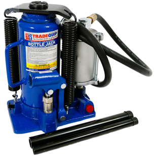 Tradequip BJ12TA 12,000kg Bottle Jack - Air Hydraulic