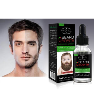 Organic Beard Growth Oil and Conditioner