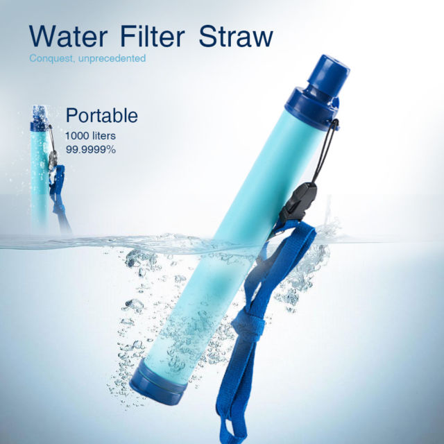 Life Straw Portable Water Purifier