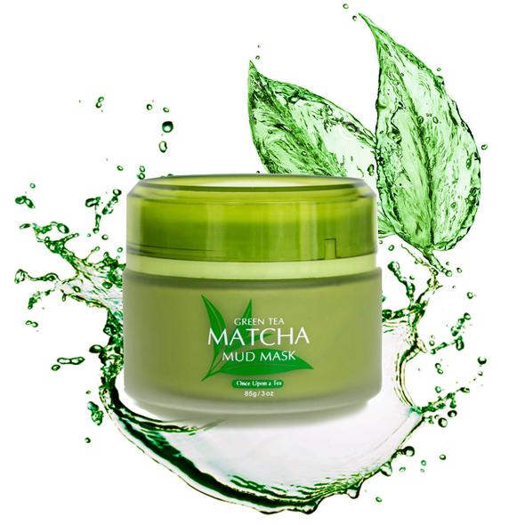 Japanese Green Tea Matcha Mud Mask