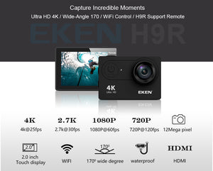 EKEN H9/H9R Action Camera - FadMonkey