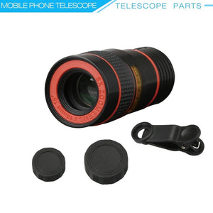 Universal Mobile Zoom Lens - 8X Optical Zoom