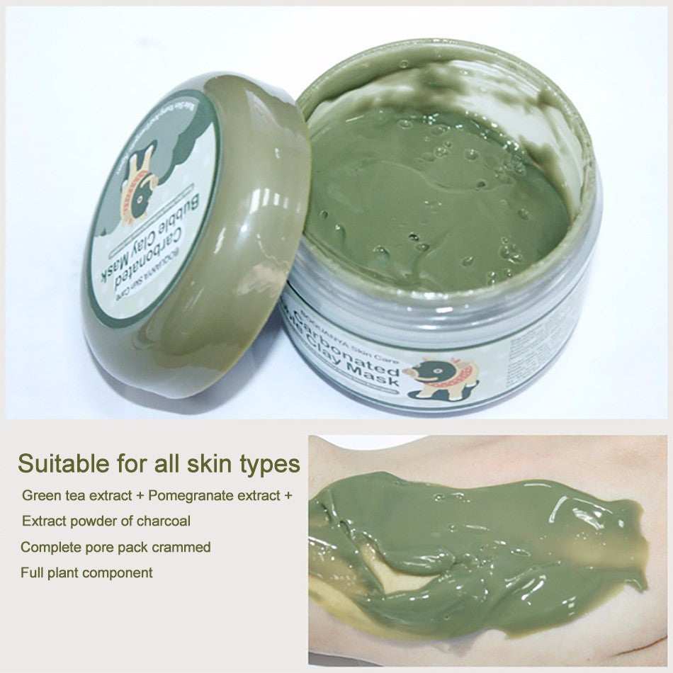 BIOAQUA Carbonated Bubble Clay Mask - FadMonkey