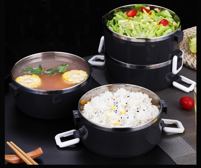 Stainless Steel Thermal Food Containers