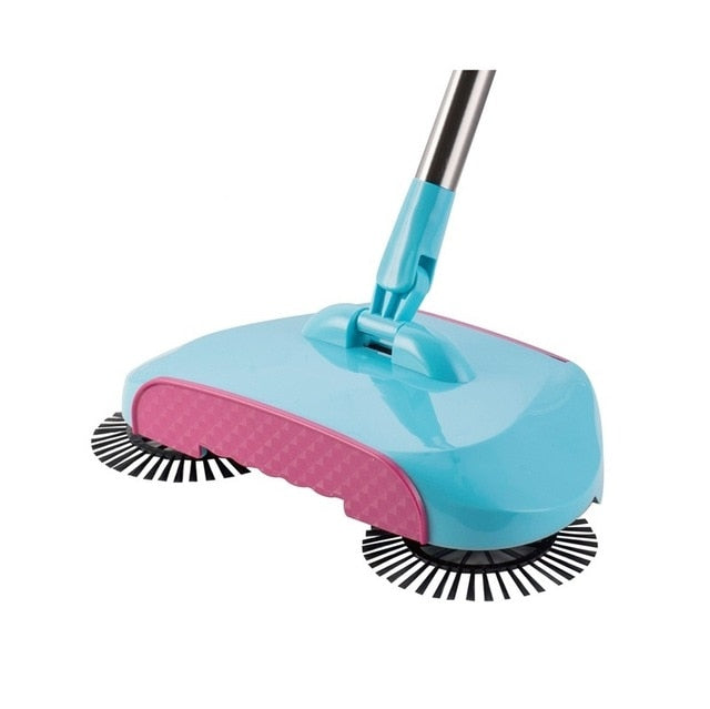 SweepIt™ Magic Spin Broom