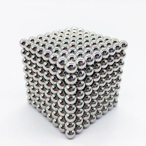 MagneChic Multicolor Magnetic Sphere Balls - 216 Pcs