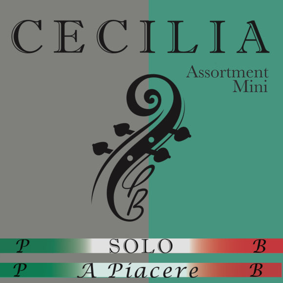 CECILIA Solo / A. Piacere Formula Rosin: Mini Size 24 Piece Assortment