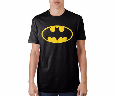 Batman Logo Black T-ShirtWarner Bros - MERCHMILLA, Official nerd Merch lives here